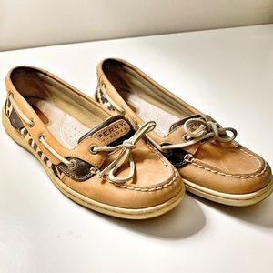 Sperry Cheetah Top siders size 7.5